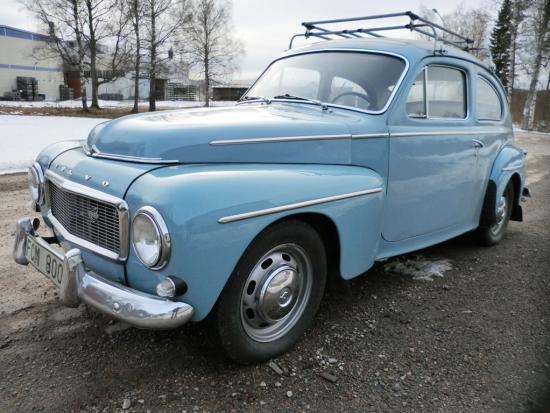 Volvo PV 544 Ljusblå