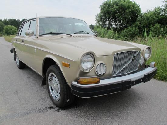 Klassika Volvobilar kommer från USA under hösten