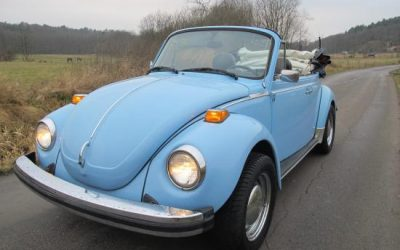 Volkswagen 1303S Cab, Fuelinjection original