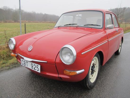 Volkswagen typ III, 1500S, Notchback