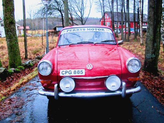 Volkswagen 1500 S historisk rallybil (fd Perrys)