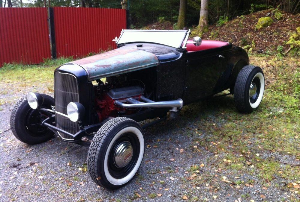 Ford Modell A hot rod – Indiana Jones-bilen