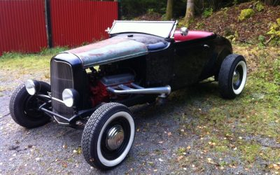 Ford Modell A hot rod – Indiana Jones-bilen