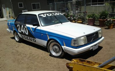 Volvo 242 Turbo, grupp A bygge