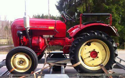 Porsche traktor Junior (1 cyl diesel 18Hkr)