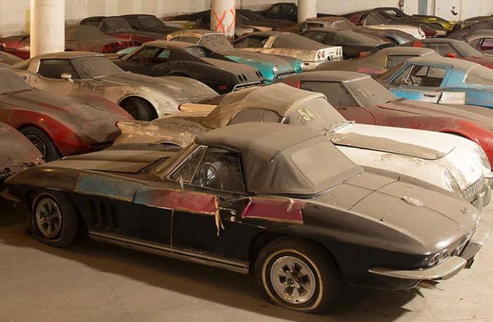 Alla Corvetter på ett bräde!!