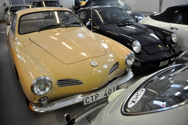 Bilder från Swedish Car Club Garaget