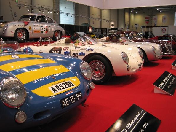Nilu och SCC på världens största mässa för klassiska bilar