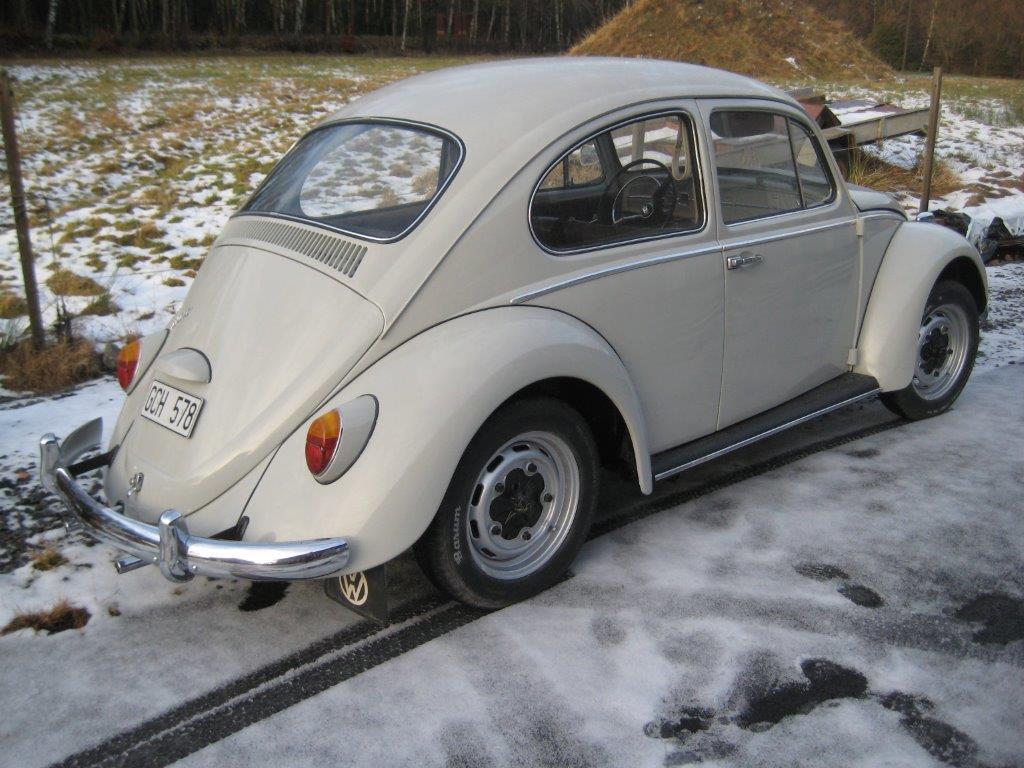 VW 1300 från 1966 kommer snart in på Nilu