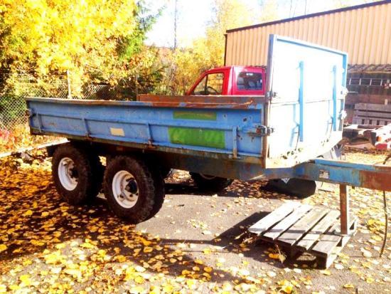 Cabro traktorvagn tippsläp 7 ton