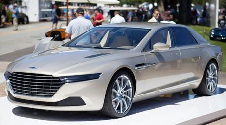 Här är bilen du aldrig kommer ha råd med – nya Aston Martin Lagonda Taraf