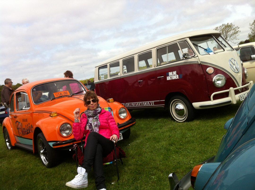 Gigalubes nya VW -73:a var på Tjolöholm