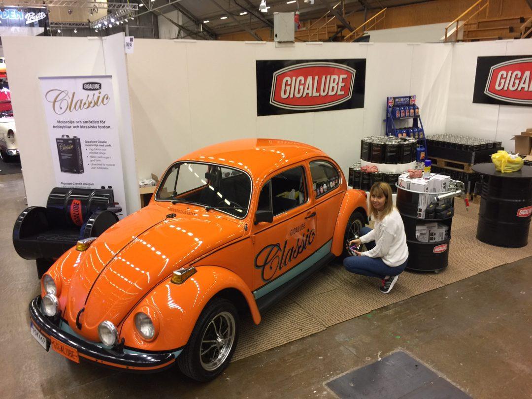 Gigalube Classic Car Oil på Elmia