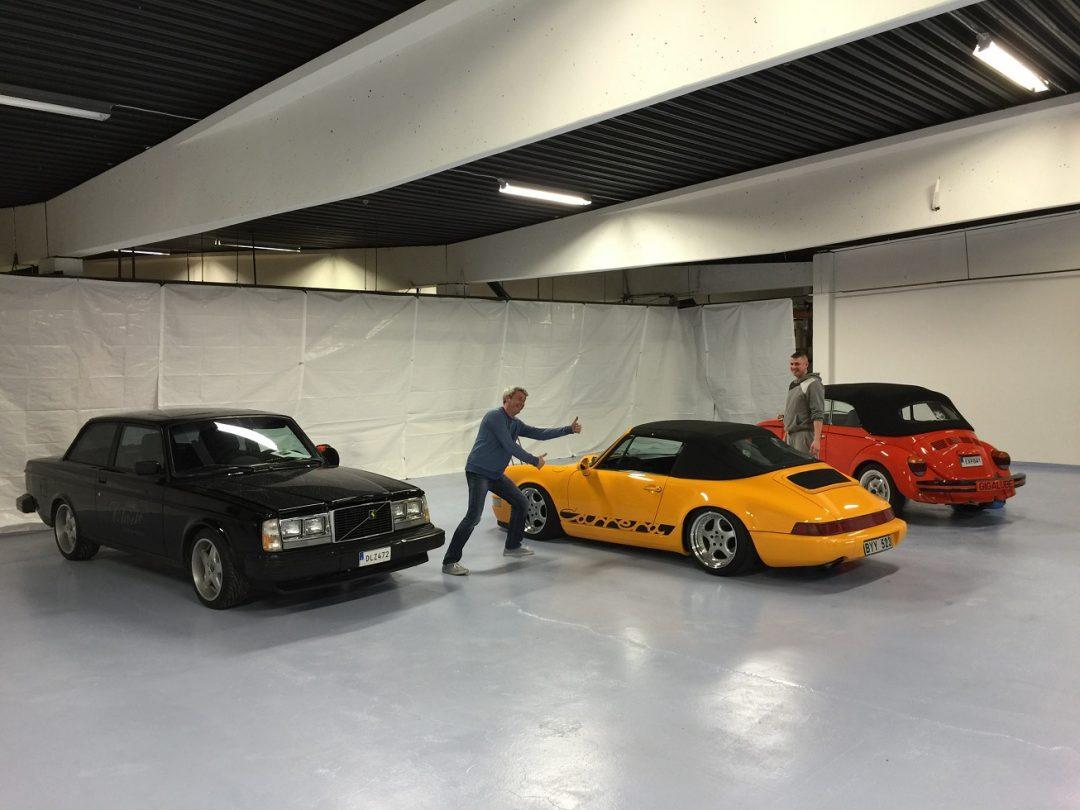 Gigalube Classic Garage öppnar i juni
