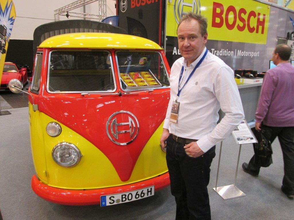 Nilu och Gigalube åker till bilmässan Techno Classica i Essen