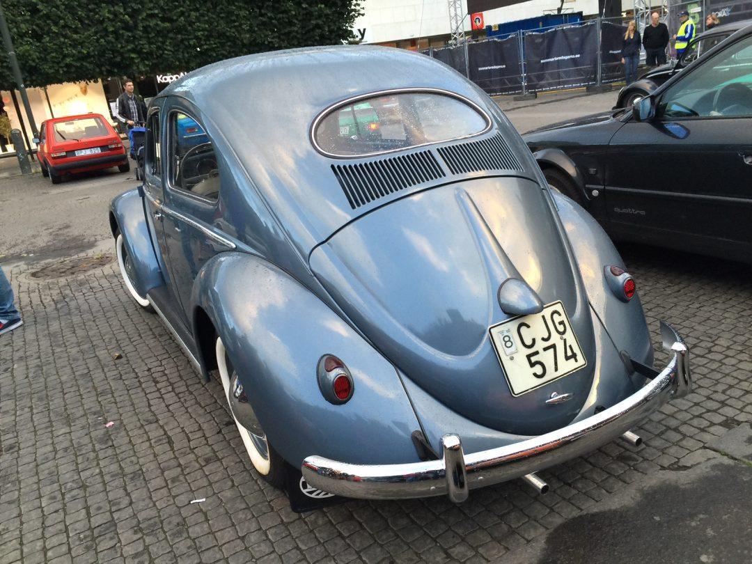 Nilus nyrenoverade VW 1200 från 1954 visas på nytt bilmuseum i vinter
