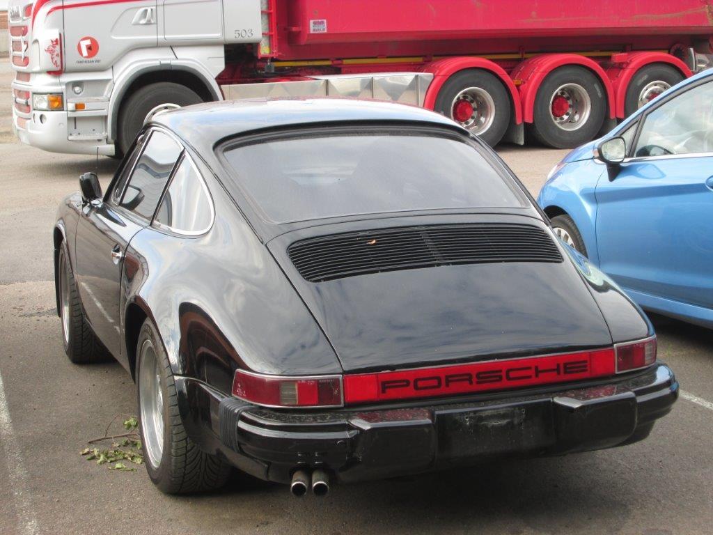Porsche 912 SWB från 1967 på väg in