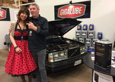 Vårkänslor och Classic Car Oil på Elmia i påsk