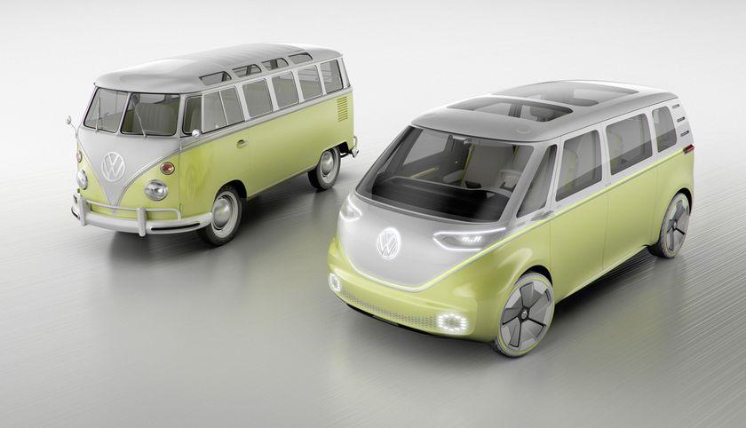 VW följer upp sin hippiebuss med en el-minibuss