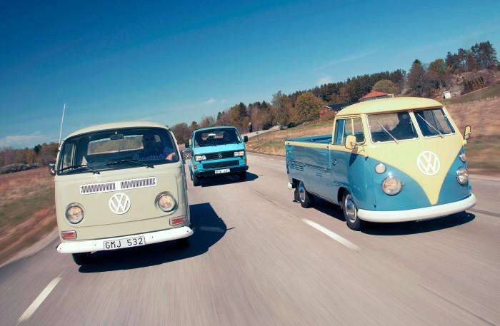 Roligt reportage om klassiska VW-pickuper