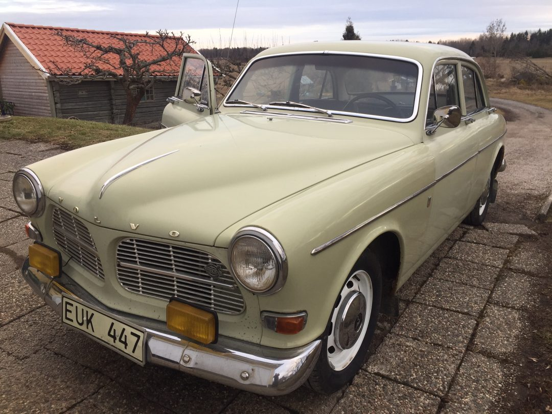 Volvo Amazon 122Sport på väg in