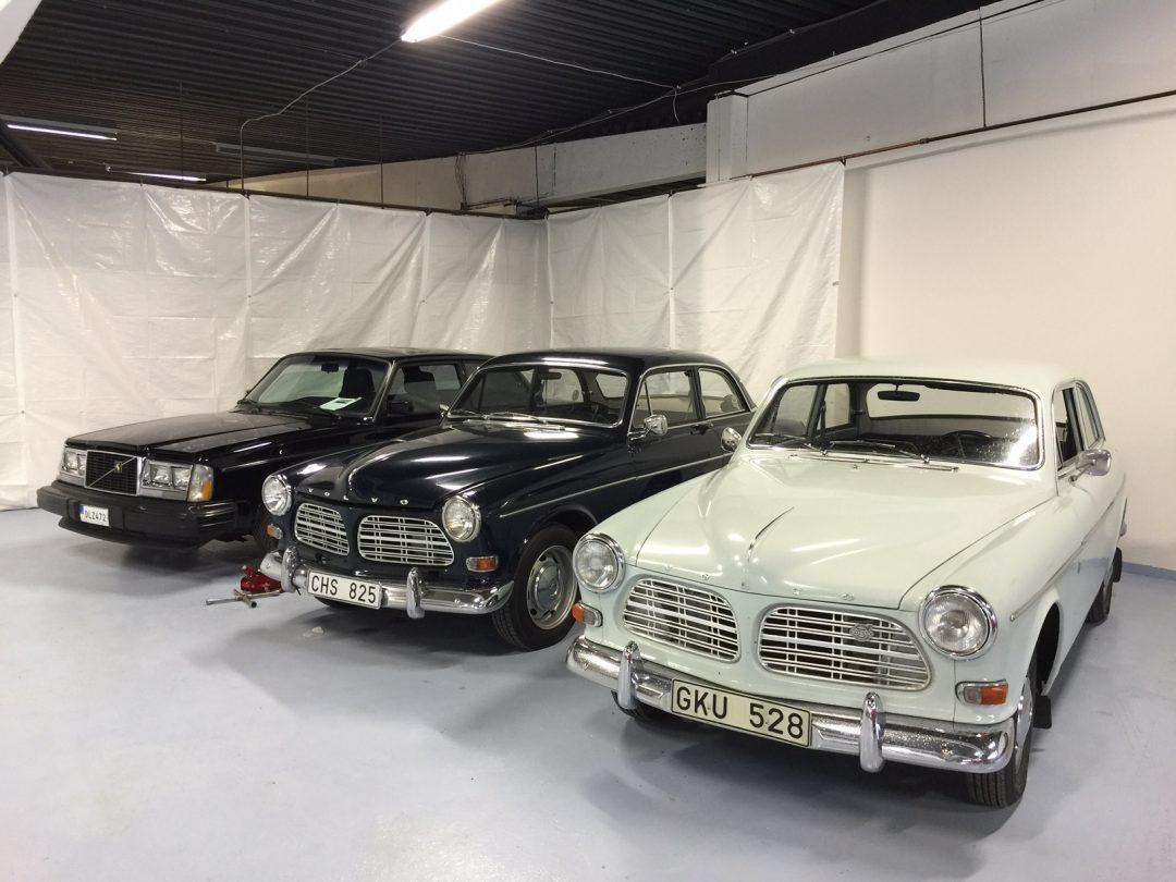 Mycket nytt i bilhallen Classic Garage i Borås