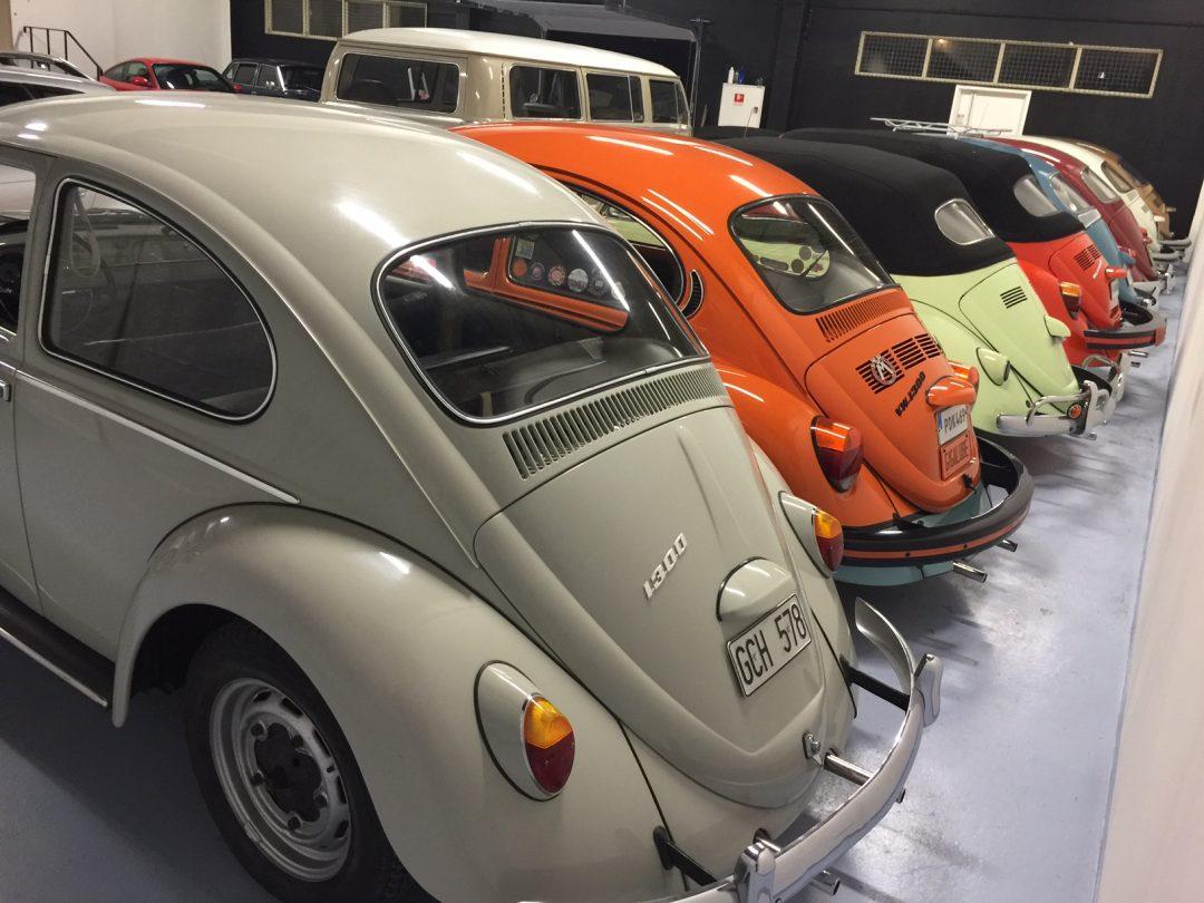 Välkommen till vår hobbybilshall och få din bil värderad