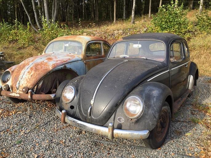 Antika VW objekt med underbar patina