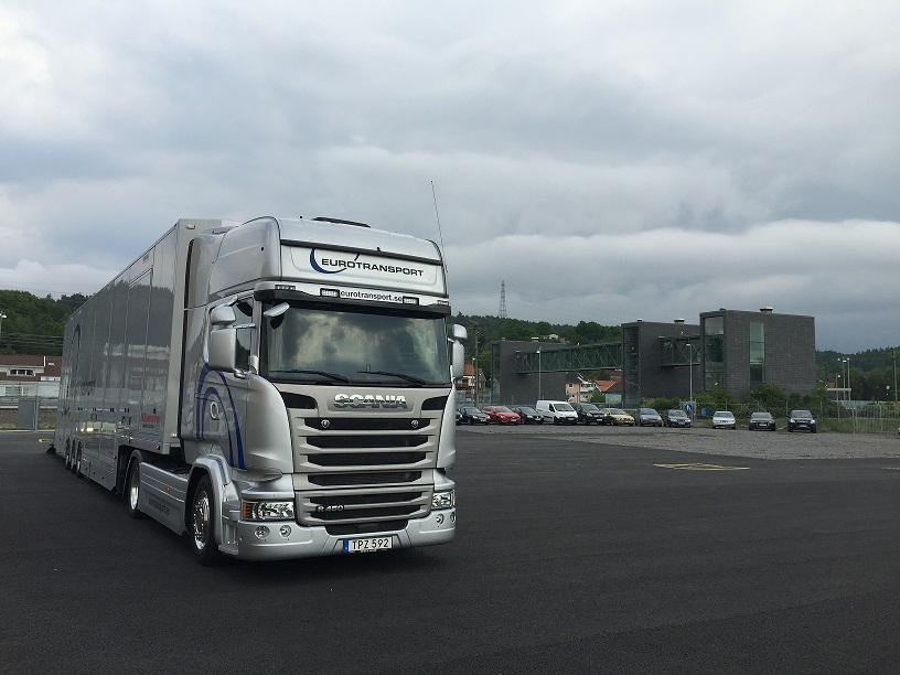 Nilu öppnar bilterminal för Eurotransport