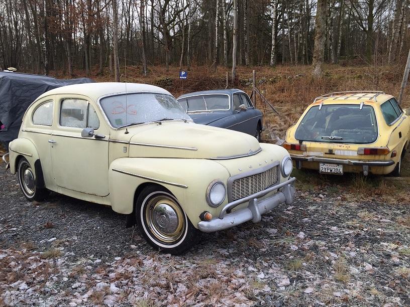 Nyinkommet, fyra Volvo roliga renoveringsobjekt