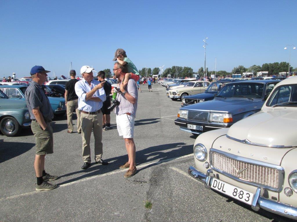 Hälsningar från Volvoträffen i VROM