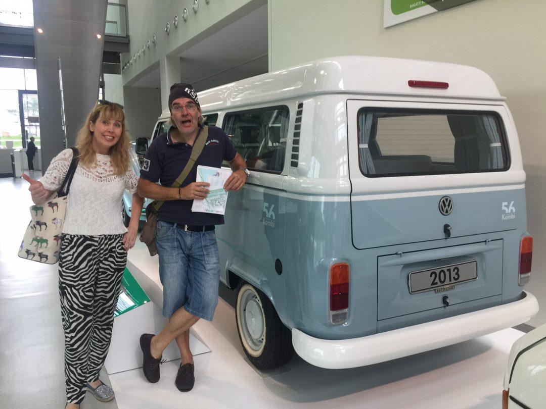 VW-museum och Autostadt