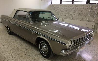 Dodge Dart V8 Cab 1965
