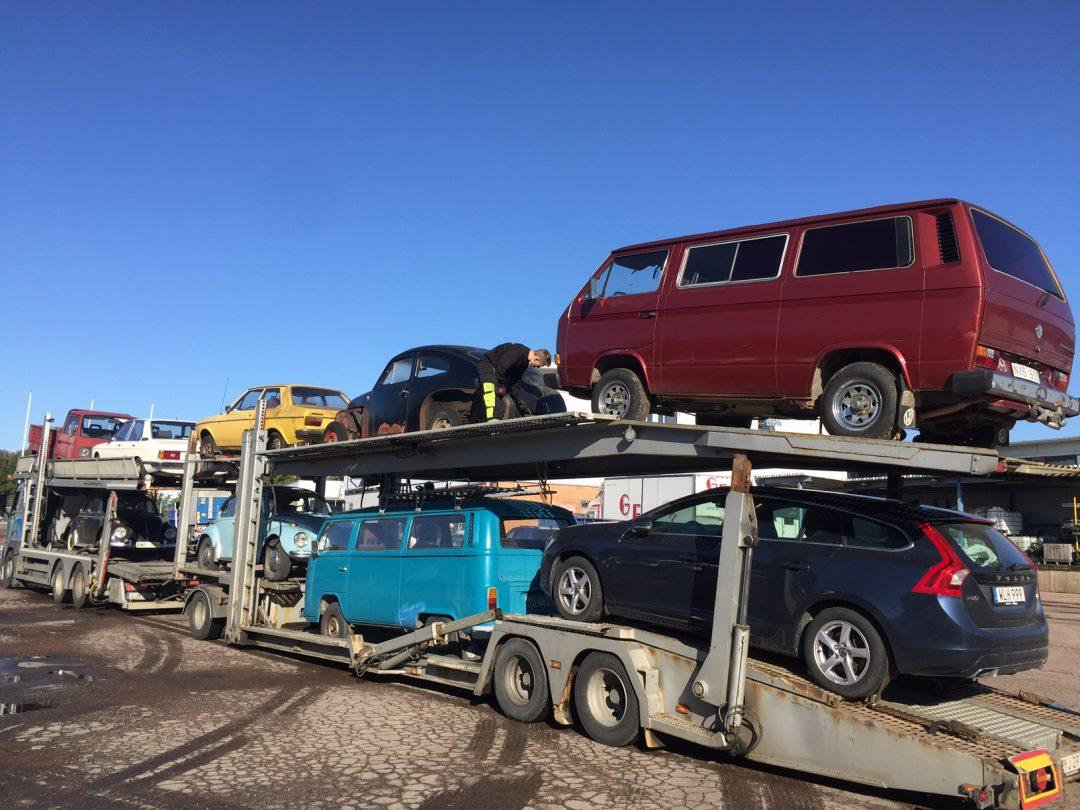 Ett gott lass goa bilar från norra Norrland