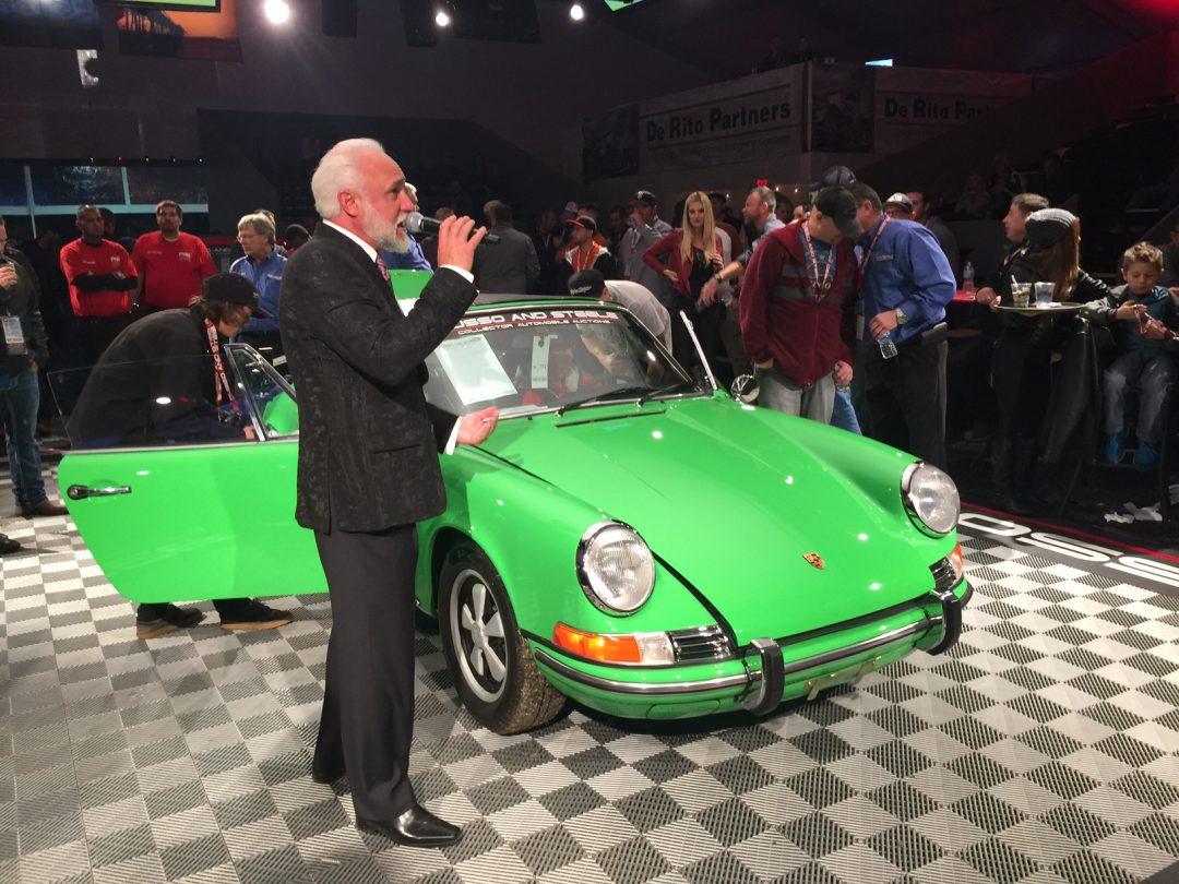 Det är kul med klassiska bilar på auktioner