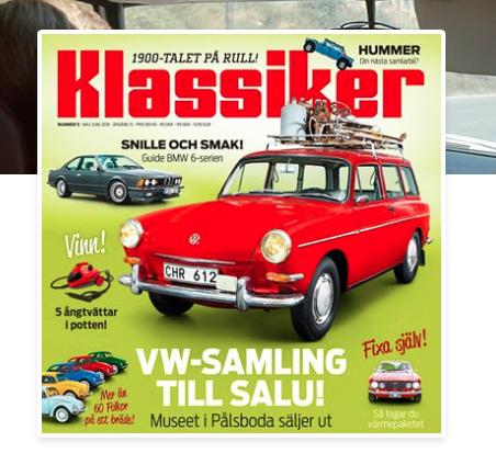 Stor VW auktion utanför Örebro i september.